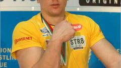 Стоян Големанов със сребро на дясна ръка от европейското