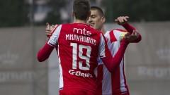 Цървена звезда отново дръпна с 11 точки на Партизан