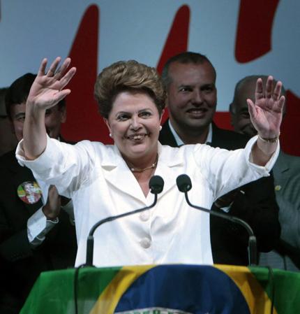 Плевнелиев поздрави Дилма Русеф за началото на втория й мандат