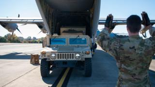 24 бронирани Хъмви пристигат от САЩ в Косово