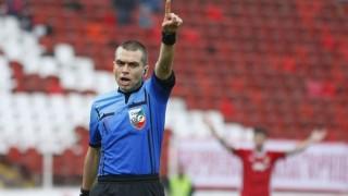 Волен Чинков получи наряд за баража между Левски и Етър