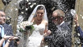 Дъщерята на Кръстника се омъжи в Сицилия