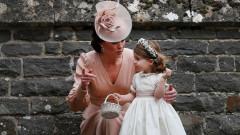 Принцеса Шарлот – звезда на сватбата на Пипа
