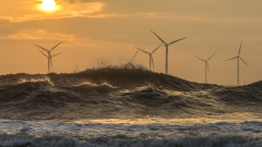 САЩ се готви за драстичен ръст на електричеството от вятърни мощности