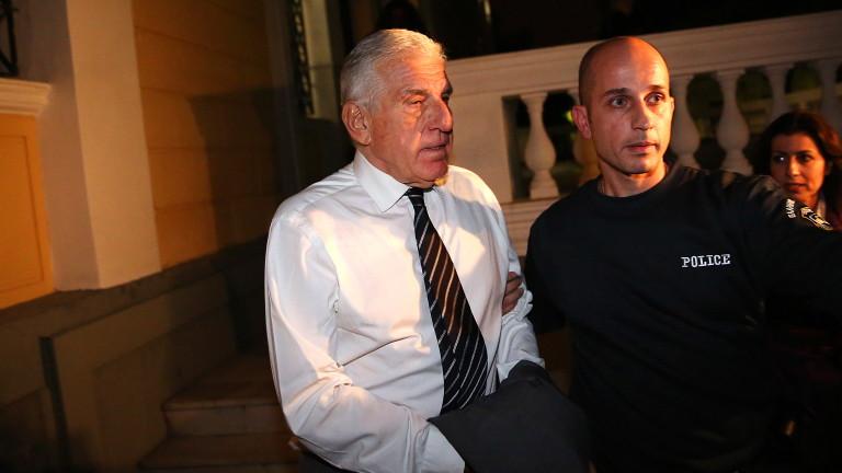 Бившият гръцки министър на отбраната Янос Папандониу и неговата съпруга