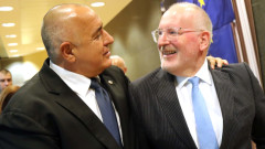 Борисов благодари на Тимерманс за добрия евродоклад