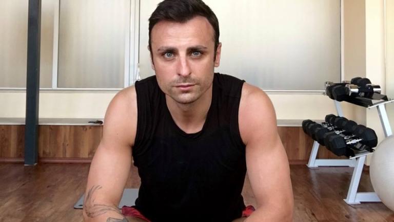 Бербатов помпа мускули във фитнеса
