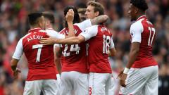 """Арсенал се """"залепи"""" за Челси, борбата обещава да бъде безмилостна"""