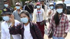 Военните убиха още петима души в Мианмар