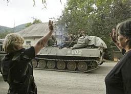 Грузинска телевизия разигра пряко в ефир руско нападение