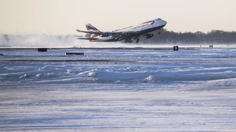 Възможна е промяна на полетите на летище София заради лошите