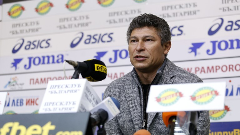 Главният мениджър на Етър Красимир Балъков направи анализ на свършеното