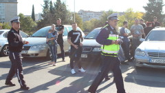 Протест срещу поскъпването на горивата в няколко града в страната