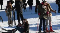 Сноубордисти предизвикаха лавина в Банско