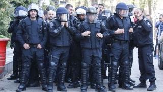 """Строга охрана и сериозен полицейски ескорт за Лудогорец на """"Армията"""""""