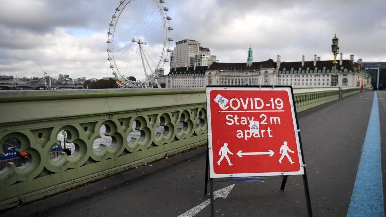 Великобритания отново с над 22 000 случая на COVID-19