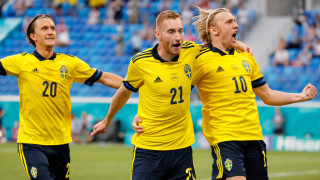 Швеция ликува в голов трилър с Полша
