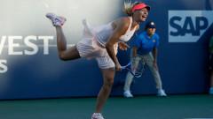 Мария Шарапова се завърна с трисетова победа в Станфорд