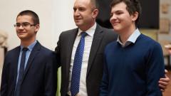 Румен Радев: Младите ни дават надежда