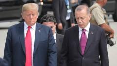 Тръмп и Ердоган обсъдиха зоната за сигурност в Сирия