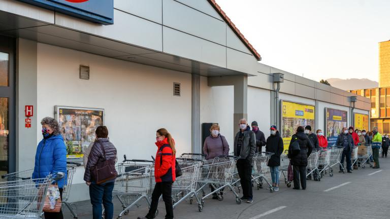 Супермаркетите искат зелените коридори за пенсионери да отпаднат