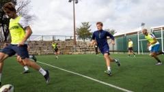 Гришо загрява за Sofia Open с футбол