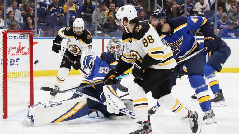 Сейнт Луис Блус отново изравни финалната серия в НХЛ срещу Бостън Брюинс