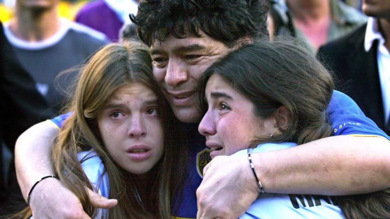 Синът на Марадона разбрал за смъртта му по ужасен начин