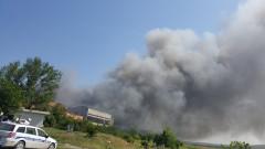 Пожарът в депото край Шишманци отделя опасните диоксини и фурани