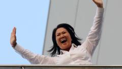 На изборите в Перу води дъщерята на експрезидента Фухимори