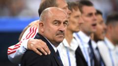 Станислав Черчесов псува като хамалин играчите си, сопна се на журналист