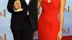 Джордж Клуни триумфира на Златния глобус