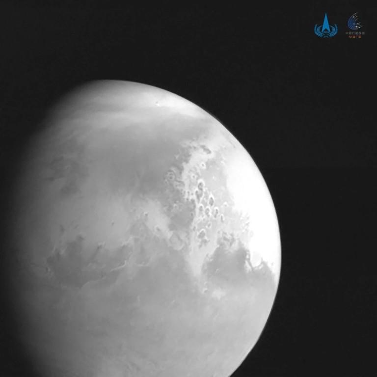 Китай изпрати първа снимка на Марс