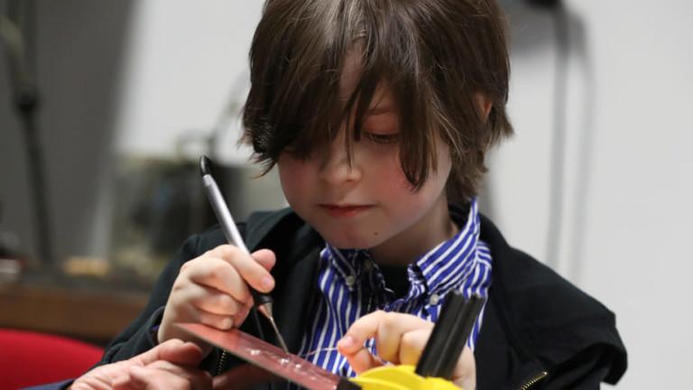 Детето-гений, което напусна университета на девет