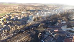 Печка предизвикала взрива в Хитрино със 7 загинали и заличени цели улици
