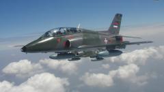 Военен самолет се разби в Сърбия, двамата пилоти са изчезнали