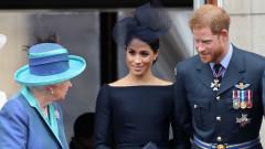 Обидена ли е кралицата на Хари и Меган