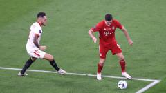 Байерн - Севиля 2:1, гол на Хави Мартинес