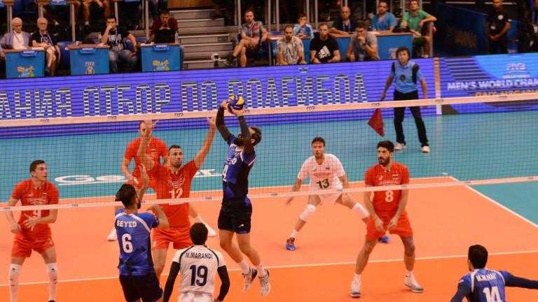 България - Иран: 22-25, 20-25, 25-22, 19-25, грешки, грешки, грешки