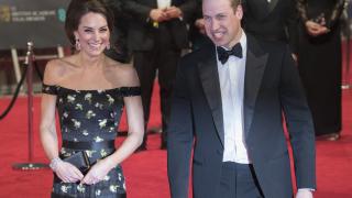 """Кейт Мидълтън за първи път на британските """"Оскари"""""""