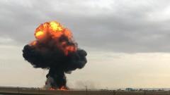 Испански F-18 се разби в близост до Мадрид