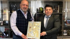 Красен Кралев проведе среща с председателя на БФ бадминтон