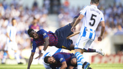 Барселона обърна Реал Сосиедад като гост