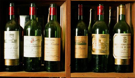 4 от 5 бутилки алкохол у нас менте