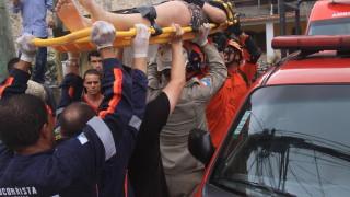 Кални свлачища заплашват Рио де Жанейро