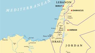 Напрежение над небето на Ливан