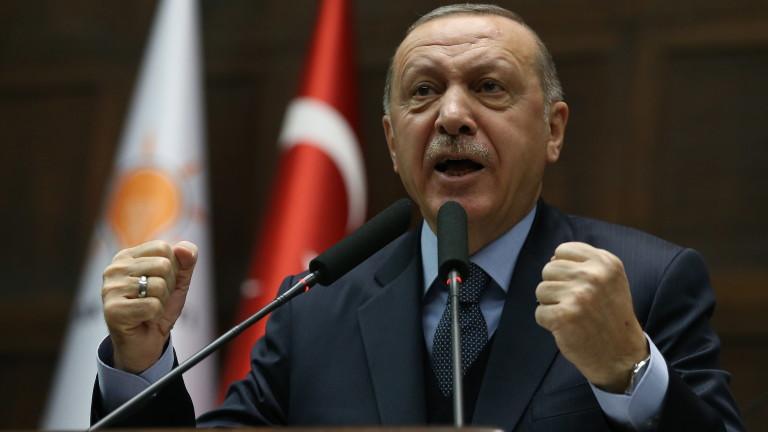 Снимка: Турция няма да допусне зона за сигурност в Сирия, която ще се превърне в блато