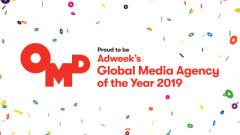 OMD е избрана за глобална медия агенция за 2019 от Adweek
