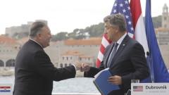 Помпео обещава САЩ да се ангажират с влиянието на Русия и Китай на Балканите