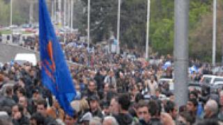 Ранени след последните протести в Тбилиси